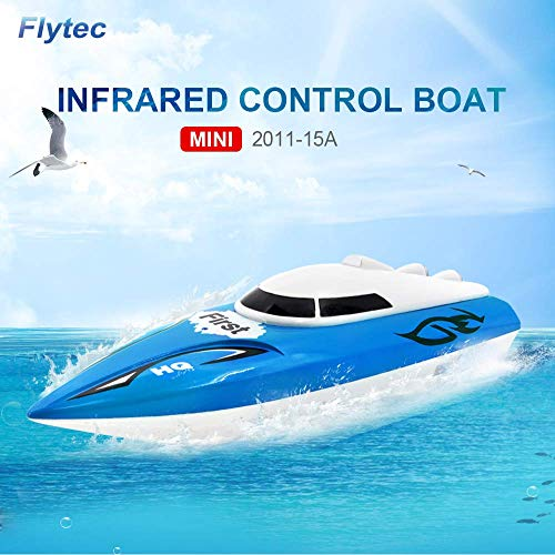 KOLAMAMA RC Boat, Remote Control Boat for Kids&Adults,2.4Ghz 4CH Electric Racing Boat for Pools and Lakes,Kids Boat Toy