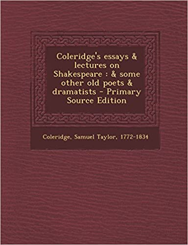 Coleridge Essays And Lectures On Shakespeare img-1