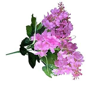 Artificial Flowers Inkach Fake Flower Bush Bouquet Home