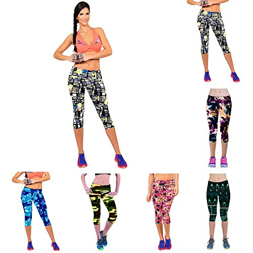 Shensee-High-Waist-Stretch-Cropped-Leggings-For-Women-Summer-Fitness-Yoga-Sport-Printed-Pants