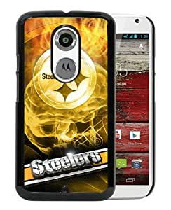 Pittsburgh Steelers 19 Black Moto X 2nd Generation Screen Phone Case Nice and Genuine Design