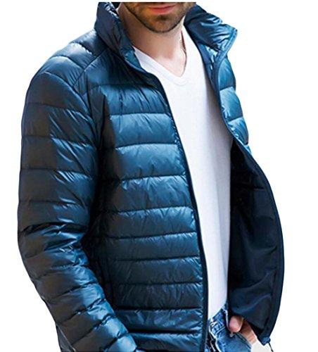 amp;S M amp;W Warm Down PackablerCoat Men's 3 Puffer Stand Outwear Jacket Colla SBqdgnBx