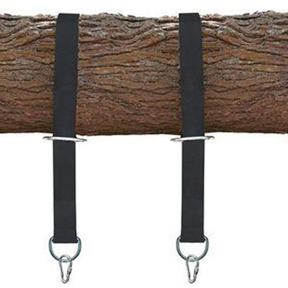 BingCW Tree Swing Hanging Straps, (Set of 2)Non-Stretch Swing Hanging Kit with Safety Lock , Disc Swings, Hammocks, Holds Up to 2200 LBs,for Classic swings, Garden swings, Toddler swings, Porch swings