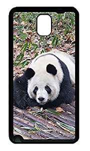 Samsung Galaxy Note 3 Cases - Summer Lovely Customize Lovely Panda TPU Black N9000 Cases