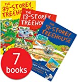3 Storey Treehouse Collection - 7 Books