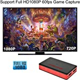 USB 3.0 HDMI HD Game Video Capture Card 1080P 60FPS Game Recorder Box Device Live Streaming for Windows Linux Os X System Xbox 360,Wii U,PC