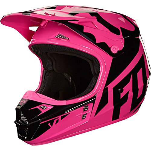 Fox Racing Women's V1 Pink Race Helmet - Small (Fox Womens Mx Helmet)