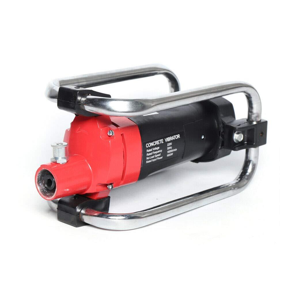 5600U//min R/üttelvibrator bequemer Handgriff Handr/üttler R/üttelflasche Verdichter RANZIX 1600W Betonr/üttler Elektro Flaschenr/üttler 6 m Schlauchl/änge