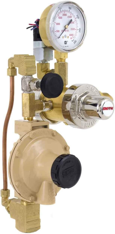Miller Smith 16347-3 Three-Stage Nitrogen Blanketing Regulator with Switch