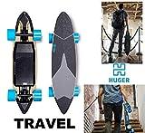 Huger Tech Travel Electric Skateboard 1160W Top Speed 20 MPH Range 22...