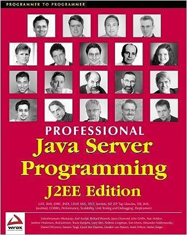 Ebooks téléchargement gratuit Android Professional Java Server Programming J2EE Edition by Subrahmanyam Allamaraju (2000-09-02) PDF RTF