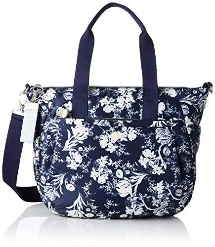 Oilily - Groovy Handbag Mhz, Porte-documents femme bleu (bleu (bleu foncé))