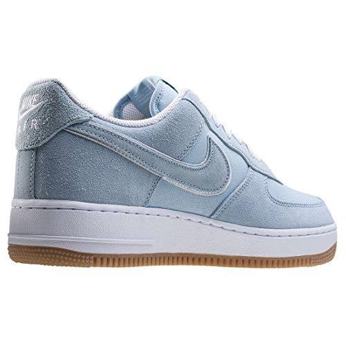 Nike Mens Air Force 1 07 QS Basketball Shoes Lt Armory Blue/Lt Armory Blue wpJvOlh