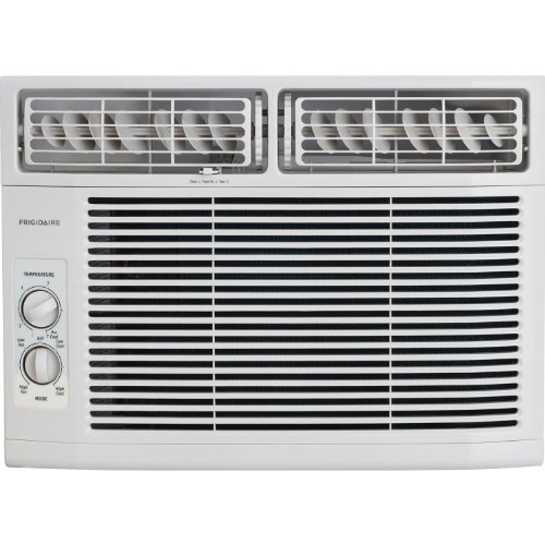 FRIGIDAIRE FRA122CV1 12,000 BTU 115-Volt Window-Mounted Compact Air Conditioner with Mechanical Controls