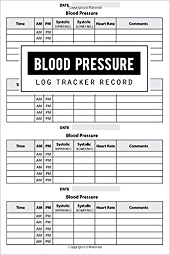 blood pressure log record health planner blood pressure tracker blood pressure journal blood pressure form template blood pressure sheet