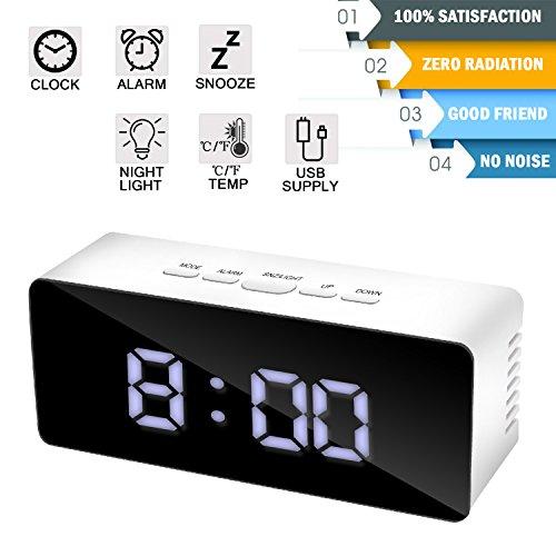 electric alarm clocks for bedroom - 6