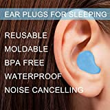 Ear Plugs for Sleeping, Reusable Silicone Moldable