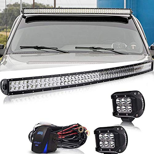 Led Light Bar AUSI 54Inch 312W Curved LED Work Light for sale  Delivered anywhere in Canada