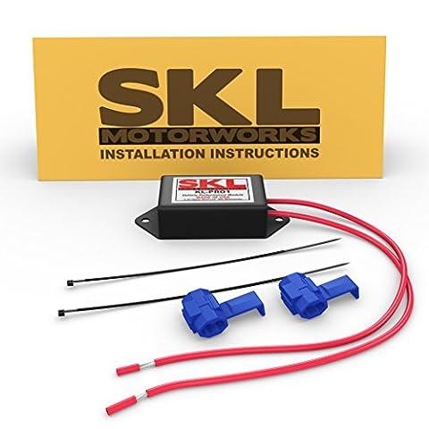 SKL Motorworks Performance Chip KL-PRO1 for GMC Yukon Denali XL AWD 6.2L V8 403HP 6-speed Automatic Transmission Aftermarket Racing Performance Parts - Increase HP + Fuel Economy MPG Gas - Gmc Yukon Denali Air