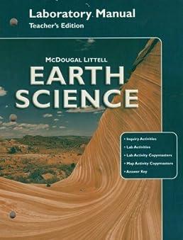 mcdougal littell earth science laboratory manual teacher edition rh amazon com Earth Science Regents Earth Science Regents
