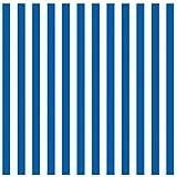 "Amscan Classic Stripe Jumbo Gift Wrap, Blue, 16' x 30"""