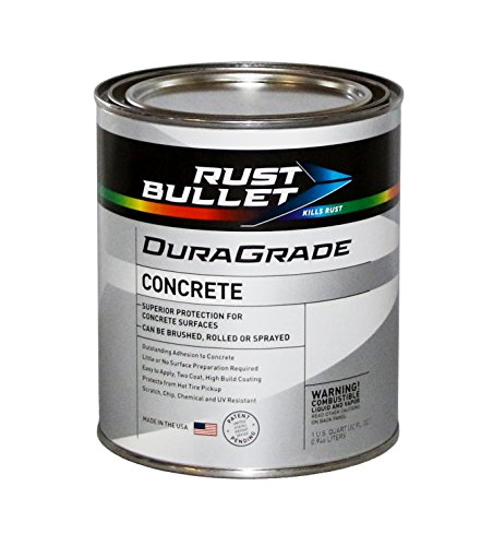 Rust Bullet Duragrade Concrete Paint Quart White
