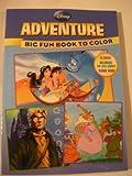 Disney Adventure ~ Aladdin, Atlantis, the Lost Empire & Robin Hood Coloring Book