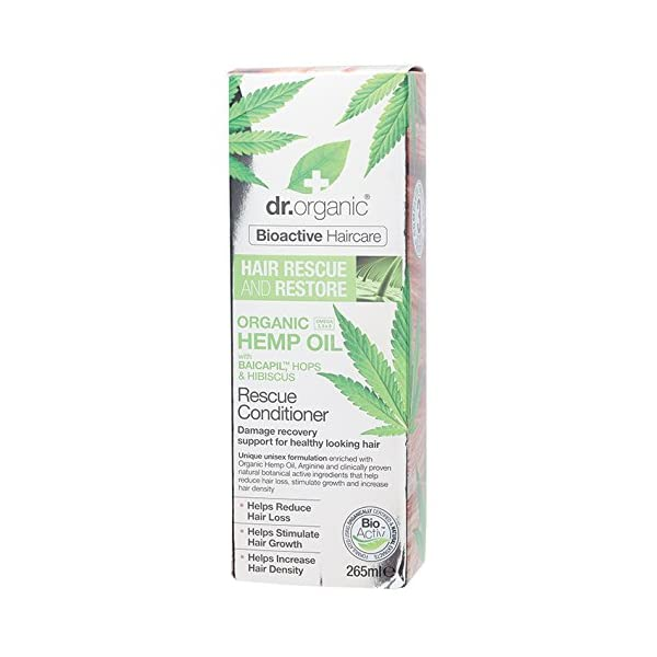 DR ORGANIC Hemp Oil Rescue Conditioner, 0.317 kg