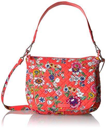 Vera Bradley Carson Shoulder Bag-Signature, Coral Floral