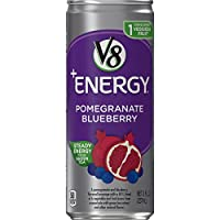V8 +Energy, Pomegranate Blueberry, 8 Ounce (Pack of 24) (Packaging May Vary)