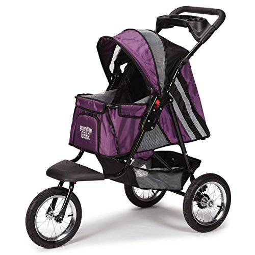 guardian-gear-sprinter-ext-ii-stroller-for-dogs-and-cats-plum