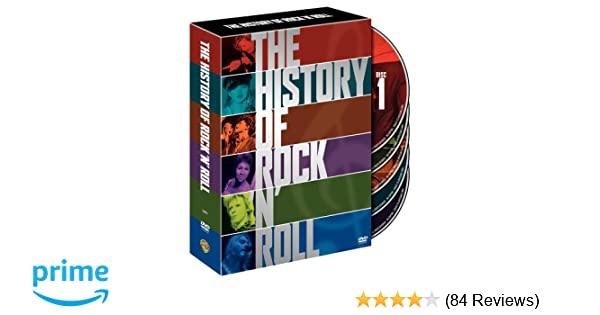 Amazon The History of Rock and Roll Various Movies & TV