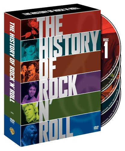 The History of Rock and Roll by Warner Home Video
