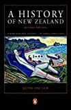 Front cover for the book A History of New Zealand by Keith Sinclair