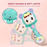 CUTE STONE Baby Rattles Teethers Set, Electronic