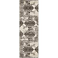 Safavieh Retro Collection RET2866-1379 Abstract Beige and Light Grey Runner (23 x 9)