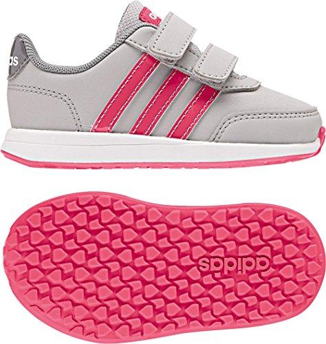 adidas Vs Switch 2 CMF Inf, Zapatillas Unisex Bebé Gris (Gridos / Rosrea / Gritre 000)