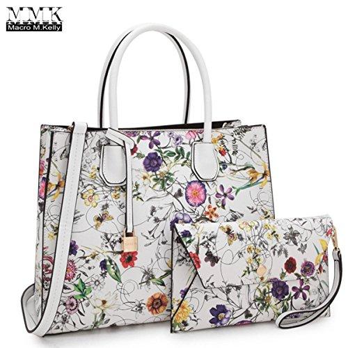 ba10d6e9552792 MMK collection Fashion Women Purses and Handbags Ladies Designer Satchel  Handbag Tote Bag Shoulder Bags with