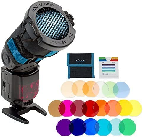 Amazon Com Rogue 3 In 1 Flash Grid Rogue Grid Gels Combo Filter Kit 20 Colors Camera Photo