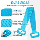 "Silicone Back Scrubber for Shower, 30"" Extra Long"