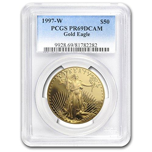 1997 W 1 oz Proof Gold American Eagle PR-69 PCGS 1 OZ PR-69 PCGS