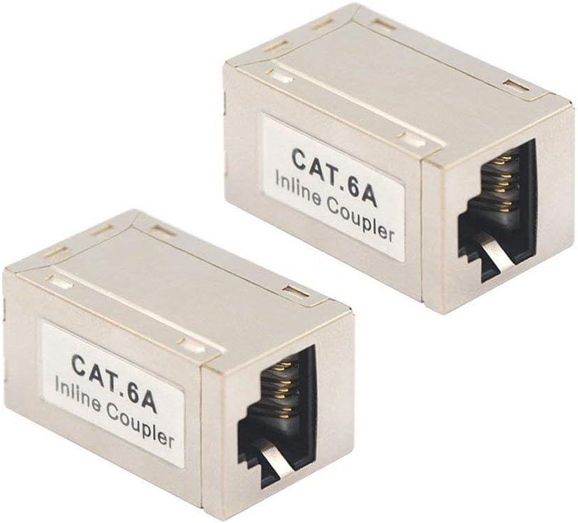 Vce Rj45 Kupplung Cat7 Cat6a Lan Kupplung Netzwerk Computer Zubehör