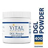 Vital Nutrients – DGL Powder – Nutritional Support for the Stomach and Intestinal Tract Lining – Gluten Free – Vegetarian – 120 grams Review