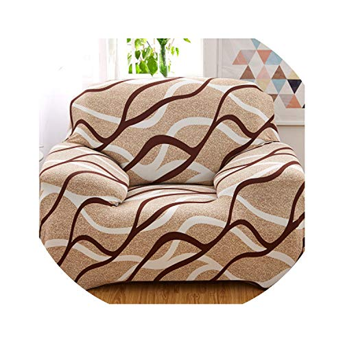 No Buy No Bye Full Wrap Sofa Cover for Armrest Sofa All-Inclusive Stretch Big Elastic Anti-Mite Sofa Cover 1/2/3/4-seat fundas para Sofas,02,Pillowcase 45x45cm
