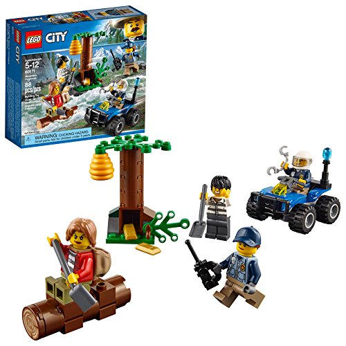 LEGO City Mountain Fugitives 60171 Building Kit (88 - Kit Starter Quad