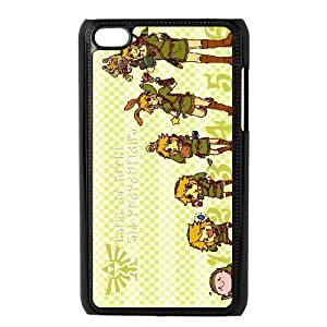iPod Touch 4 Phone Cases Black The Legend of Zelda FSG527330