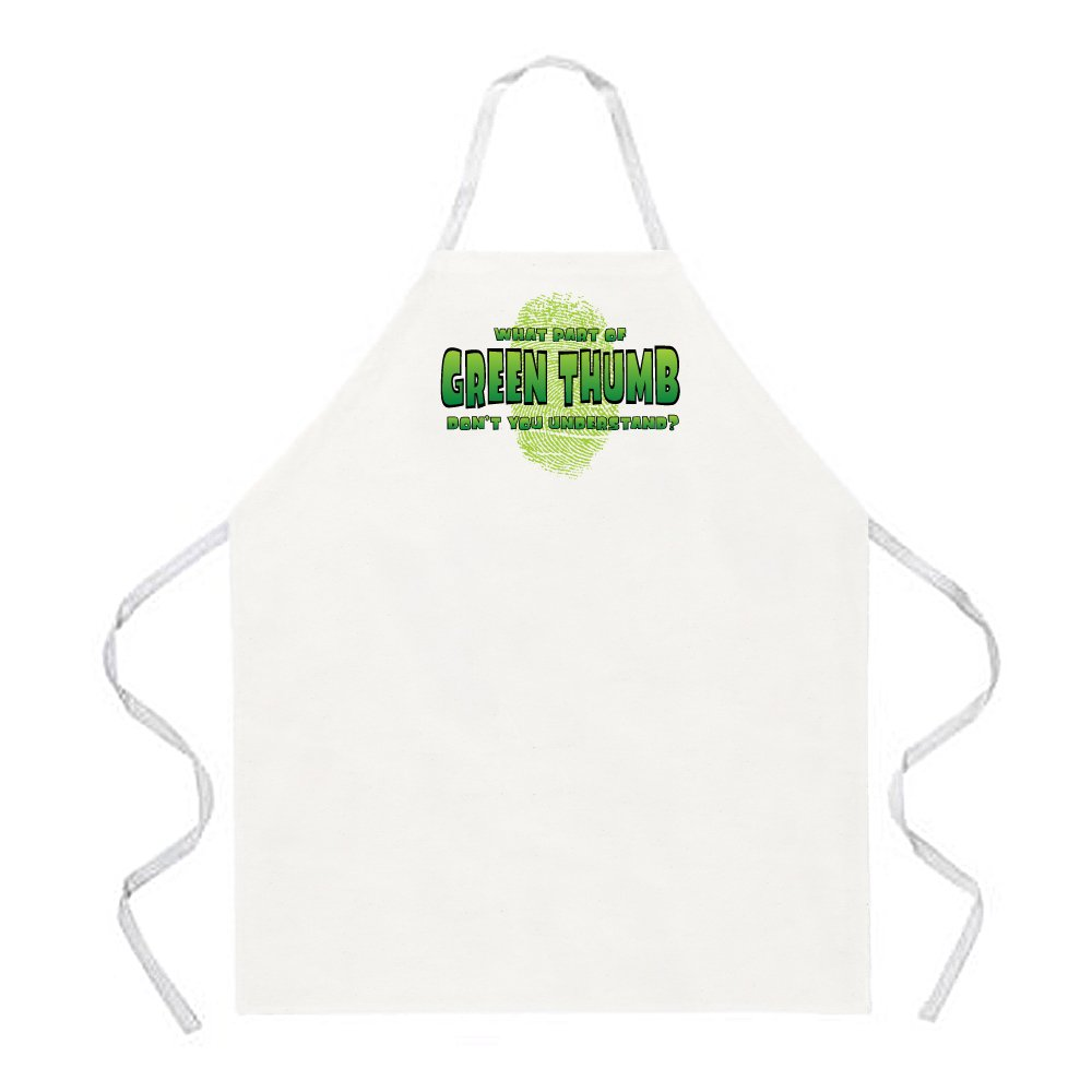 One Size Fits Most Attitude Aprons Life Without Gardening Apron Natural