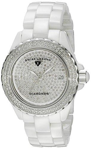"Swiss Legend Women's 20052-WWTS ""Karamica Diamonds Collection"" Diamond-Accented Watch"