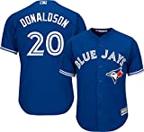 Josh Donaldson Toronto Blue Jays MLB Majestic Youth Blue Alternate Cool Base Replica Jersey (Youth Small 8)