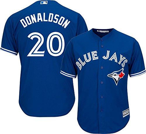 Blue Jays Youth Alternate Jersey - Josh Donaldson Toronto Blue Jays MLB Majestic Youth Blue Alternate Cool Base Replica Jersey (Youth X-Large 18-20)